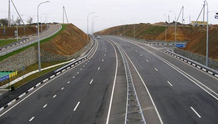 Дорога в Тобольске