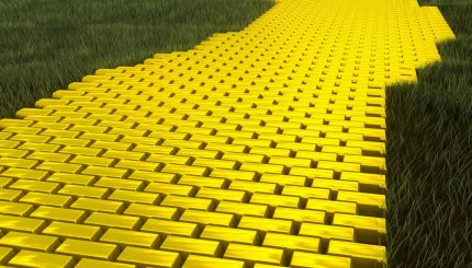 Золотая дорога без геотекстиля