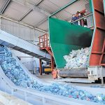 Переработка мусора для изготовления геотекстиля