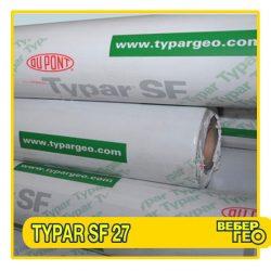 Геотекстиль Typar SF27 90 г/м2, рулон (5.2м*200 п.м.)