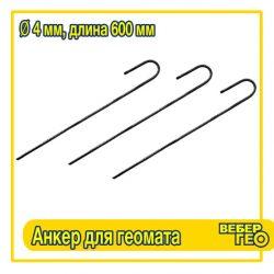 Анкер для крепления геомата 4x600
