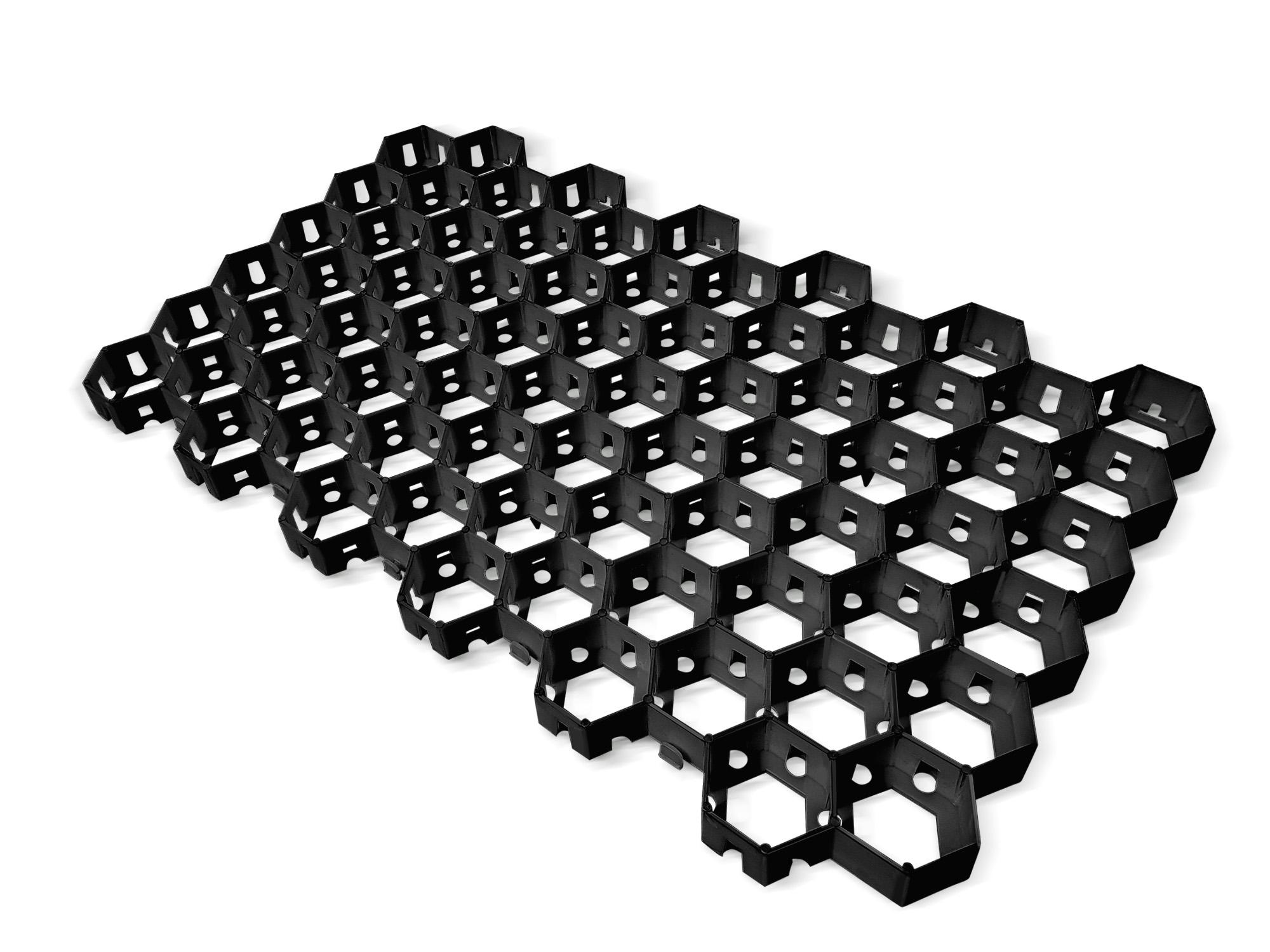 Газонная решетка черная