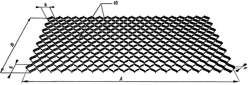Параметры объемной георешетки